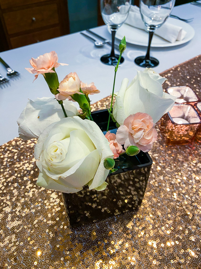 Easy Mother's Day Centerpiece