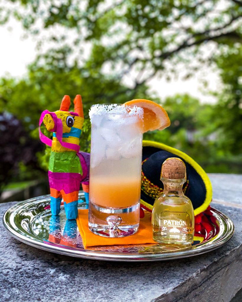 drink ideas, summer drinks, summer cocktails, summer cocktail recipes, alcoholic drinks, ideas for labor day party, labor day cocktails, labor day drinks, best summer cocktails, the best summer cocktails, summer drink recipes, summer drink ideas, the best summer cocktails recipes, tequila cocktails, paloma, grapefruit, cocktail on a silver tray,