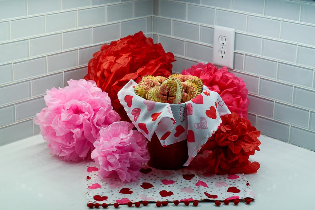 heart shaped valentines treat
